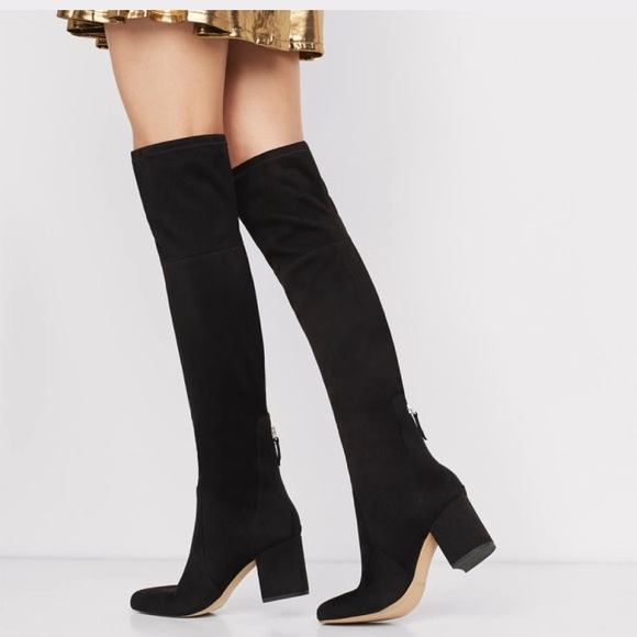 Also over the knee boots